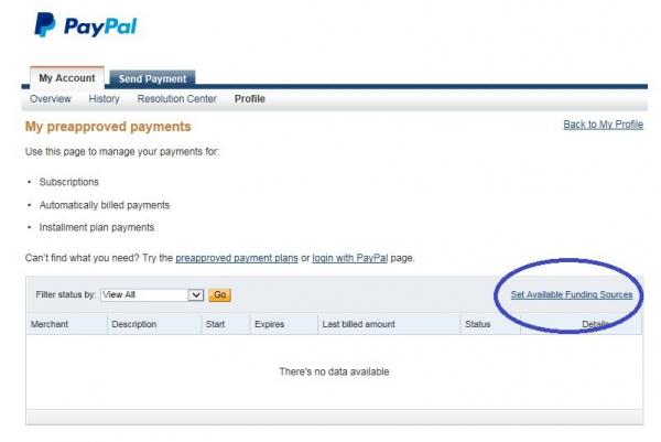 Настройка платежа без конверсии Paypal. Шаг 2