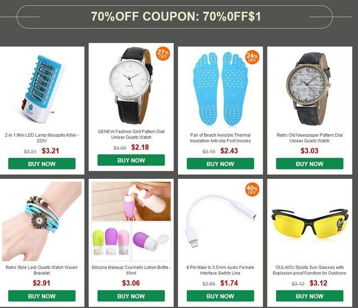 gearbest one dollar sale