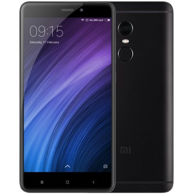 Xiaomi Redmi Note 4 5.5 inch 4G Phablet   -  BLACK
