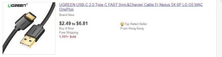 Товар на ebay