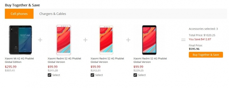 Gearbest Xiaomi Mi A2 и S2